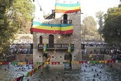 Image result for gondar fasil bath images
